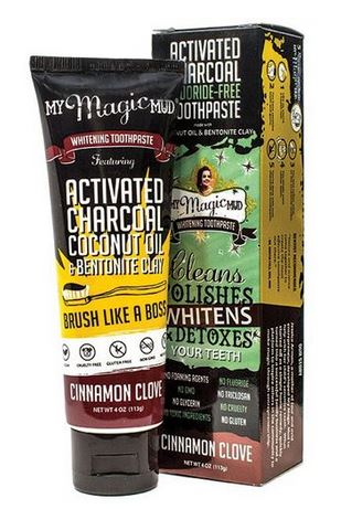 Product Review: My Magic Mud Toothpaste